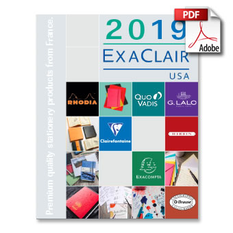 Exaclair 2019 Product Catalog