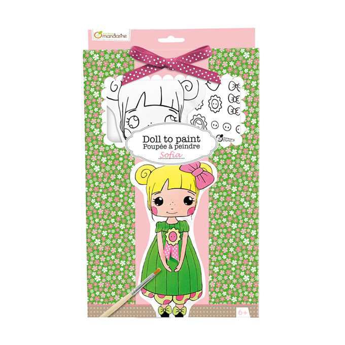 Avenue Mandarine Doll Painting Kits