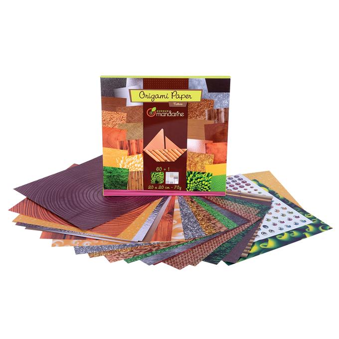 Avenue Mandarine Origami Paper Purple