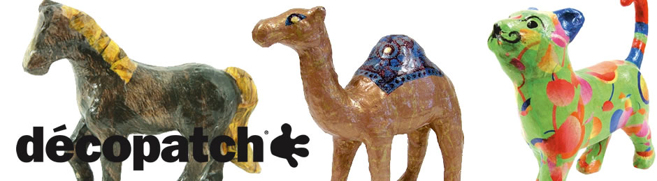 Decopatch | Papier Mache Animals