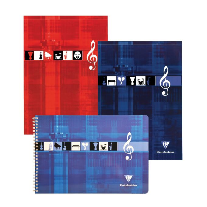 Clairefontaine Music Notebooks