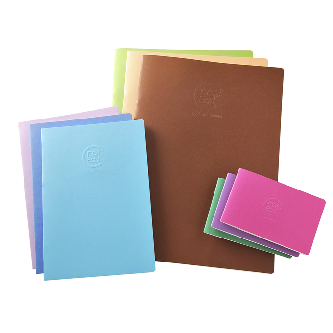 Clairefontaine Crok' Books - Slim, ultra flexible and light to carry