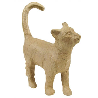 Decopatch Papier Mache Cat