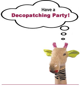 Decopatch Papier Mache Animals