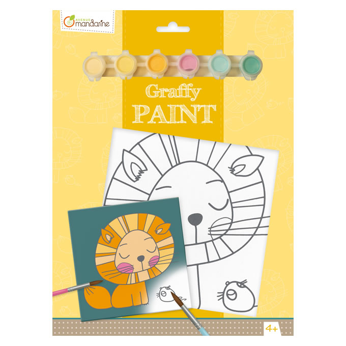 Avenue Mandarine Graffy Paint Board