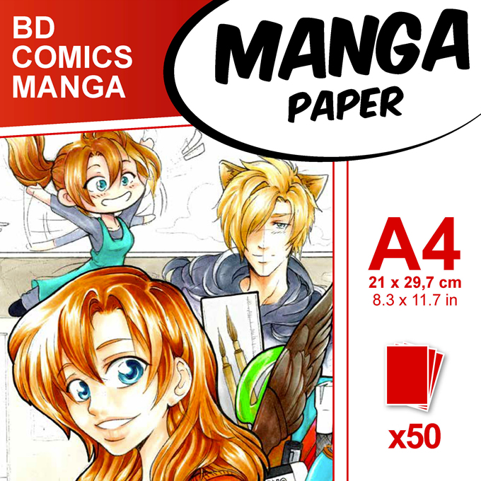 Clairefontaine Manga Drawing Paper
