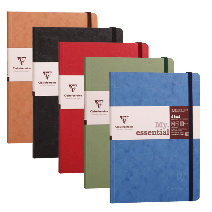Clairefontaine Paginated Notebooks