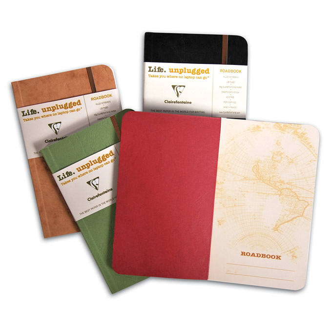Clairefontaine Roadbook Notebooks